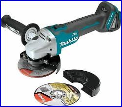 Makita 18V XAG04Z LithiumIon Brushless 41/2 / 5 CutOff/Angle Grinder