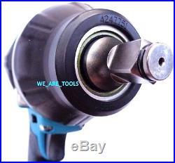 Makita 18V XWT08 1/2 Cordless Brushless Impact Wrench 18 Volt Torque 740 1180 LB