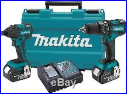 Makita 18-Volt LXT Lithium-Ion Brushless Cordless Combo Kit 2-Piece Drill Driver