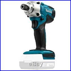 Makita 18v Cordless Li-ion Combi Hammer Drill & Impact Driver & Jigsaw Kit