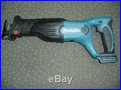 Makita 18v Cordless Xlt Combo Set Hammer Drill Reciprocate Saw Grinder Free Ship