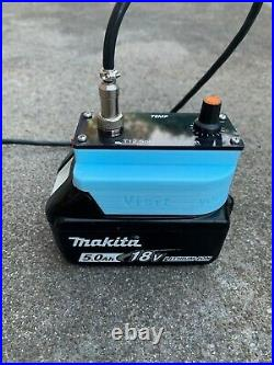Makita 18v portable soldering station/iron, T12 console, OLED screen