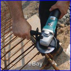 Makita 4-1/2 Slide Switch Variable Speed Angle Grinder 9564CV New