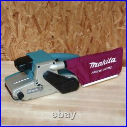 Makita 8.8 Amp 4 in. X 24 in. Variable Speed Belt Sander with Dust Bag 9404 New