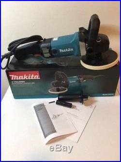 Makita 9237C 7 Polisher 10 Amp Corded Replaces 9227C Polisher Latest Model