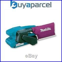 Makita 9911 3 3 Inch 75 x 457mm Heavy Duty Corded 240v Belt Sander + Dust Bag