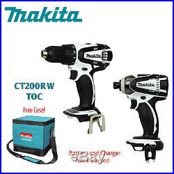 Makita (A Grade) 18V Compact Li-Ion Cordless XDT04Z & XFD01Z withFree Case