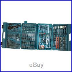 Makita Accessories Case P-44046 Drill / Bit Set 216 pcs GENUINE NEW