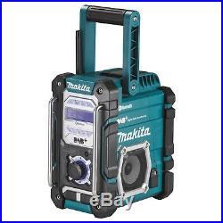 Makita Akku-Baustellenradio 7,2-18V DAB/DAB+ Bluetooth DMR112 Digitalradio
