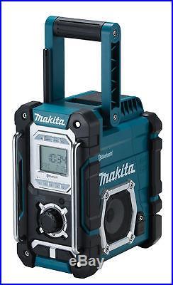 Makita Akku-Baustellenradio DMR108 7,2-18 V Bluetooth USB AUX Nachfolger DMR106