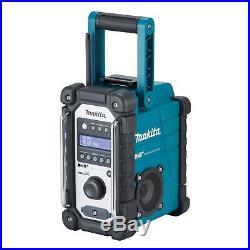 Makita Akku-Baustellenradio DMR110 DAB+ 7,2 18 V Digital Radio