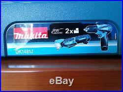 Makita Akkuschrauber DF330D + DA330D im Koffer / DK1481J