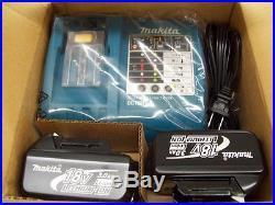 Makita BHR240 18V Li-Ion 7/8 Cordless Rotary Hammer Drill Kit
