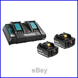 Makita BL1850B2DC2 18V Battery and Dual Port Charger