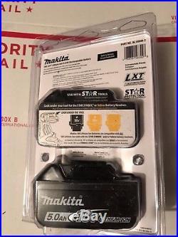 Makita BL1850B-2 18V GENUINE Battery 5.0 AH Fuel Gauge NEW In PACKAGE