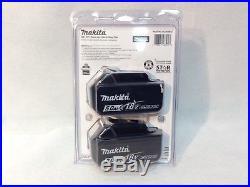 Makita BL1850B-2 NEW LED GAUGE 18V GENUINE Battery 5.0 AH 18 Volt SEALED