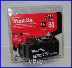 Makita BL1860B LXT Lithium-Ion Battery, 6.0 Ah, 18 Volt, New Retail Packaged