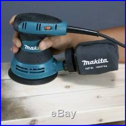 Makita BO5030 125mm 5 240v Random Orbital Sander Includes Dust Bag