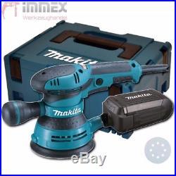 Makita BO5041J Exzenterschleifer Schleifer Schleifmaschine 300W 125mm Makpac