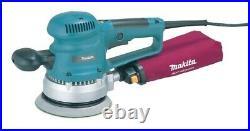 Makita BO6030 110v 6 150mm Random Orbital Sander + Sanding Sheets + Makpac Case