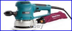 Makita BO6030 110v Corded Random Orbital Sander 150mm 6 + Wrench & Dust Bag
