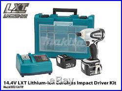 Makita BTD130FW 14.4-Volt Lithium-Ion Heat-Hardened Steel Cordless Impact Driver