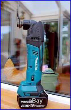Makita BTM50 18V LXT Multi-tool Cordless Oscillating Multicutter 1 x 3.0Ah