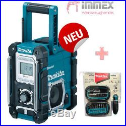 Makita Baustellenradio DMR108 BLUETOOTH USB AUX IN Radio NACHFOLGER von DMR106