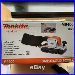 Makita Belt Sander M9400 240v 610 x 100mm Heavy Duty Similar To 9404 B23 BOX