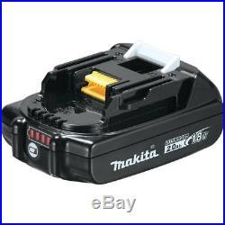Makita Brushless Combo Kit 18V LXT Sub-Compact BL 2-Piece Combo Kit CX200RB