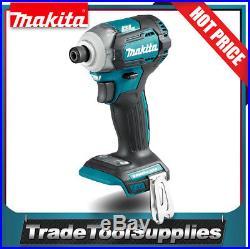 Makita Brushless Impact Driver 1/4 Shank 18v Li-Ion 6 Mode DTD170Z BARE TOOL