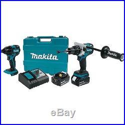 Makita Cordless 2 Pc. Combo Kit XT257TB 18V LXT Lithium-Ion Brushless case