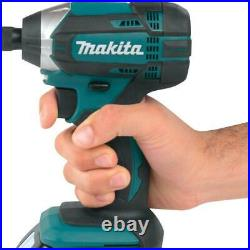 Makita Cordless Tool Combo Kit 18-Volt Lithium-Ion Battery Charger Bag (5-Tool)