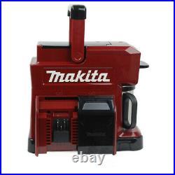 Makita DCM501ZAR 10.8v CXT / 18v LXT Special Edition Red Coffee Maker Body Only