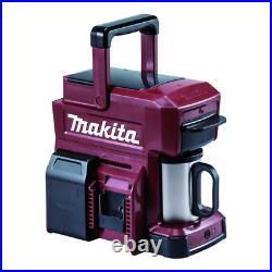 Makita DCM501ZAR 18v Coffee Machine Red Ltd Edition Cordless Body Only