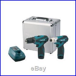 Makita DF330D & TD090D Li-ion Driver drill Tamping tool Set 10.8V power tools
