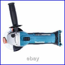 Makita DGA452Z 18V 115mm Cordless Angle Grinder Body + Free Tape Measures 8M
