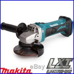 Makita DGA452Z DGA452 18V Li-ion Cordless Angle Grinder 115mm Body Only