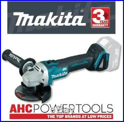 Makita DGA454Z Angle Grinder 18V Cordless Brushless li-ion (Body Only) 115mm
