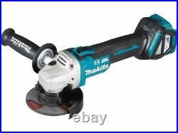 Makita DGA463Z 18v Cordless Brushless 115mm Angle Grinder Bare Tool + Flange Nut