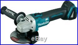 Makita DGA504RTJ 18v Cordless Brushless 125mm Angle Grinder Lithium 2 x 5.0ah