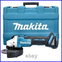 Makita DGA504ZJ 18V Cordless Brushless Angle Grinder 125mm with Case
