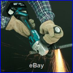 Makita DGA504ZJ 18v Cordless Brushless 125mm Angle Grinder Lithium Bare + Makpac