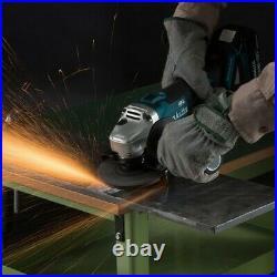 Makita DGA504Z 18v Cordless Brushless 125mm Angle Grinder Bare Tool + Flange Nut