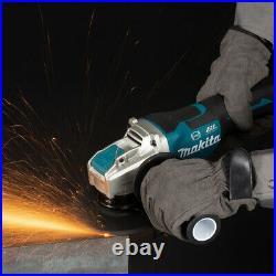 Makita DGA519Z 18V LXT Cordless Brushless X-Lock Angle Grinder 125mm Body Only
