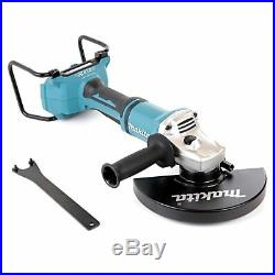 Makita DGA900ZK 18V Twin LXT Brushless Angle Grinder 230mm With Carry Case