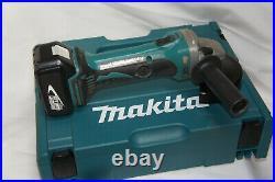 Makita DGA 452 18V Winkelschleifer Flex 125mm + 2 Akkus + DC18RC + MacPac Koffer