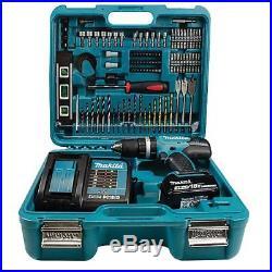 Makita DHP453SFTK 18v LXT Combi Drill inc 1x 3.0Ah Batt & 101 Pc Accessory Case