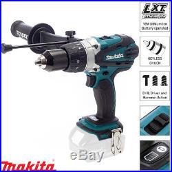 Makita DHP458Z DHP458 18V Li-ion Cordless 2 Speed Combi Drill Body Only