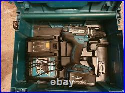 Makita DHP482 Akku-Schlagbohrschrauber 18 V mit Ladegerät / Aku 4Ah / MAKPAC